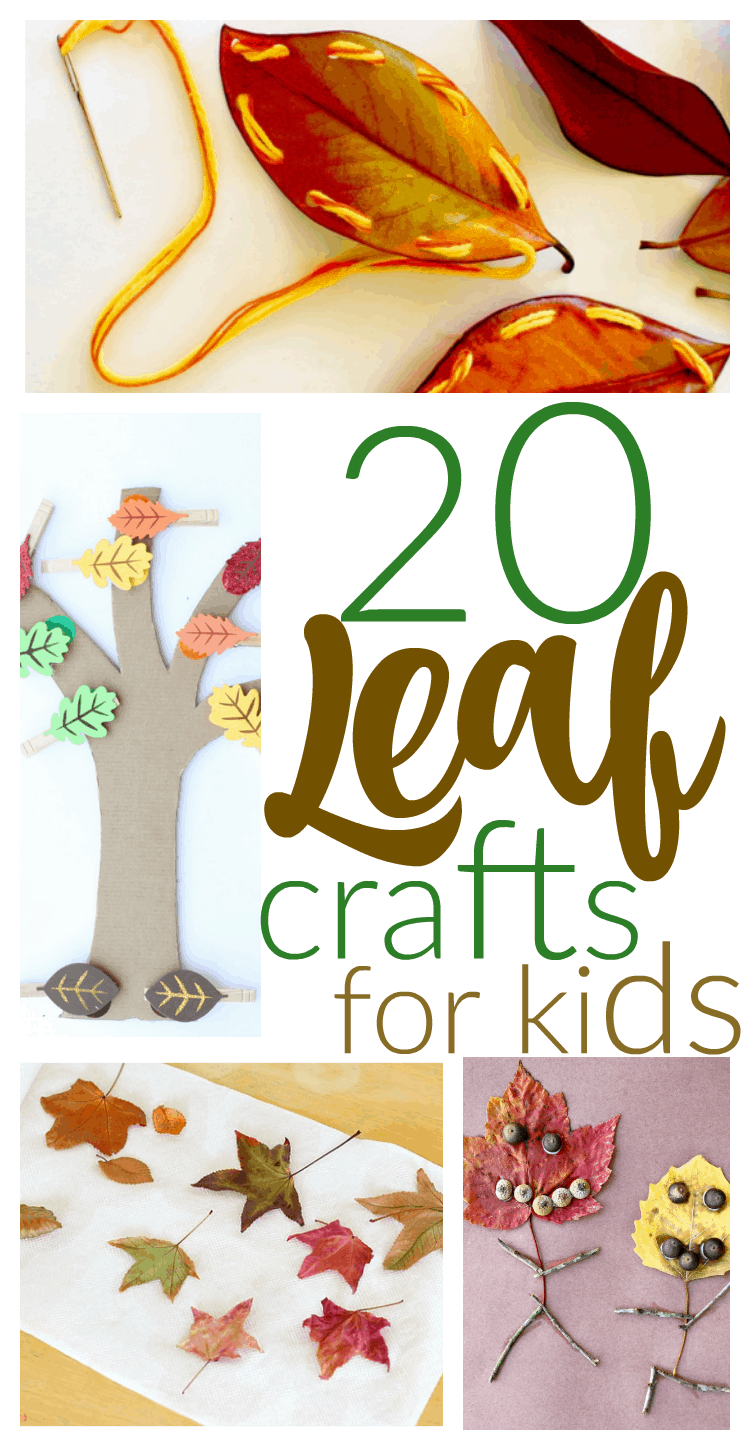 20 Fun Fall Kids Crafts With Leaves - I Can Teach My Child!