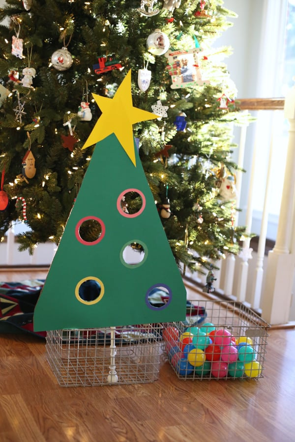Ideas For A Church Christmas Play : Christmas tree ball sort for toddlers i can teach my child